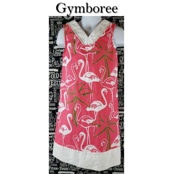 Gymboree Flamingo Dress Size 7